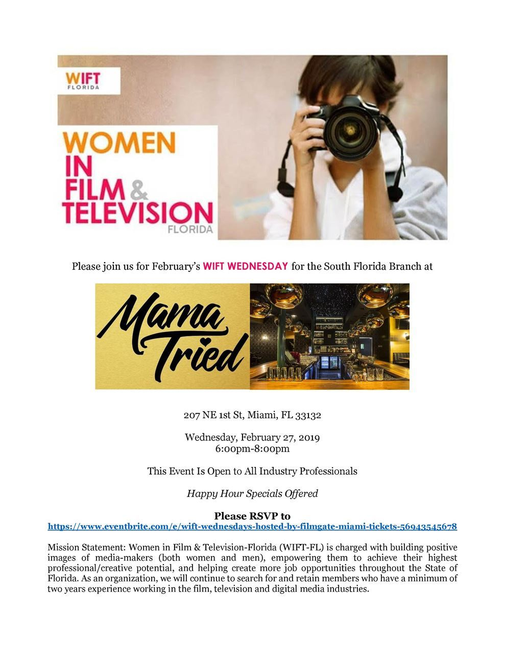 Women in Film & Television - FL - WIFT South Florida Wift